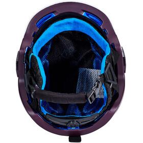 Salomon MTN Lab Helmet White/Plum Perfect